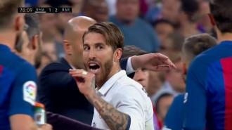 Vés a: El primer missatge de Sergio Ramos després del clàssic