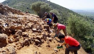 Vés a: Ulldecona recupera part del mur del tancament del poblat preiber de la Ferradura - els Castellets
