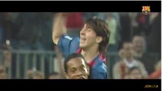Vés a: VÍDEO L'emotiu homenatge del Barça a Leo Messi pels seus 500 gols de blaugrana