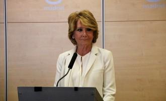 Vés a: Esperanza Aguirre dimiteix per tercer cop