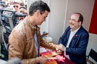 Vés a: La victòria de Sánchez alimenta la tercera via que abandera el PSC