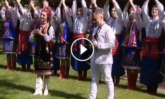 Vés a: VÍDEO Així ha rebut l'ambaixada d'Ucraïna el català Manel Navarro, que participa a Eurovisió