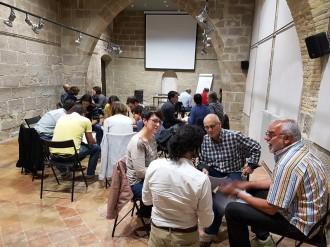 Una trentena de persones participen en la primera taula de territori, medi ambient i infraestructures