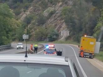 Vés a: La pedra que va caure a la C-17 al Vallès Oriental provenia d'unes obres privades