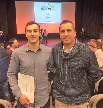 Marcel Jané i Cardona guardonat als Premis de Recerca Jove