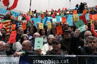 Vés a: «Esclat de colors» a Passeig de Gràcia amb Aragó: així serà la mobilització de l'ANC per a la Diada