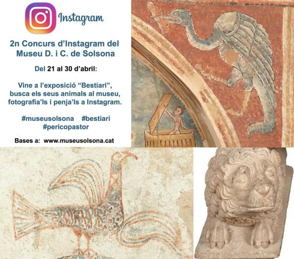 El Museu de Solsona convoca el 2n Concurs Fotogràfic a Instagram
