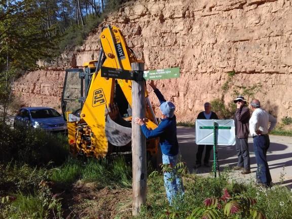 El Centre Excursionista del Solsonès recupera el GR 3 de Solsona a Cardona