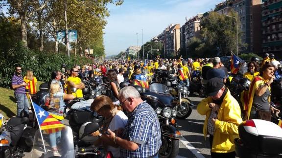 Aquest dissabte arrenca la Motorada per la Independència, que passarà pel Solsonès