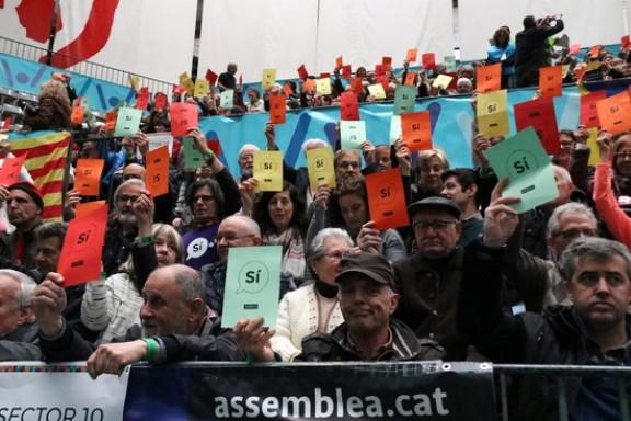 «Esclat de colors» a Passeig de Gràcia amb Aragó: així serà la mobilització de l'ANC per a la Diada