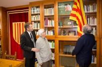 Vés a: En la inauguració de la Biblioteca Municipal Bisbe Deig