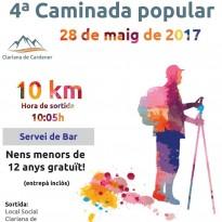 Vés a: La 24a Caminada Popular de Solsona es dedica als voluntaris que l'han fet possible