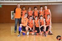 El Cadet Taronja es proclama campió de lliga