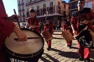 VÍDEO Els tabals tradicionals del Vallès fan vibrar Caldes de Montbui