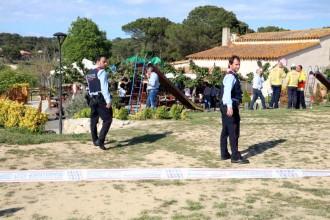 Vés a: El castell inflable de Caldes on va morir una nena estava mal muntat, segons la policia espanyola