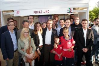 El President Artur Mas visità la Fira de Sant Isidre