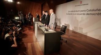Vés a: Puigdemont planteja el dilema a Rajoy: o pacta el referèndum o negocia la independència