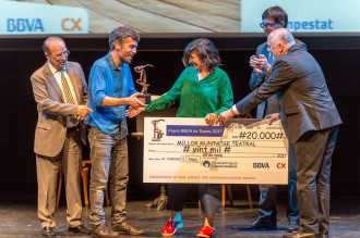 Vés a: «L'Empestat», de Jordi Oriol, guanya el Premi BBVA de Teatre 2017
