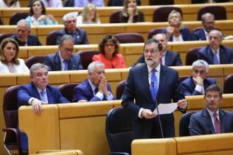 Vés a: Rajoy referma la negativa al referèndum i compara el procés amb les «pitjors dictadures»