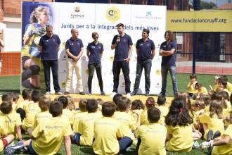 Vés a: Gerard Piqué inaugura un camp de futbol a la Segarra per fomentar els valors del futbol