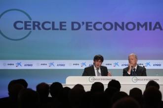 Vés a: «La política no es fa als mitjans i tampoc a les clavegueres de l'Estat»; Puigdemont a Sitges, en deu frases