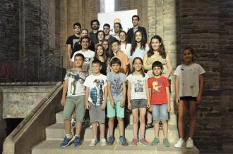 Òmnium lliura a Cardona els premis Bages Juvenils de Literatura 2017