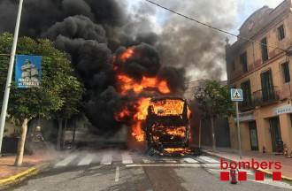 Vés a: Expedient sancionador a l'empresa Hispano Igualadina per un incendi en un autocar al Bruc