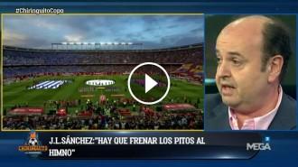 Vés a: VÍDEO Un col·laborador de «El Chiringuito» suggereix suspendre la final de la Copa del Rei  pels xiulets a l'himne espanyol