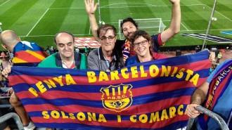 La Penya Barcelonista Solsona i Comarca a la Final de Copa