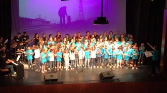 Magnífic concert de fi de curs dels grups de cant coral de l'EMMS