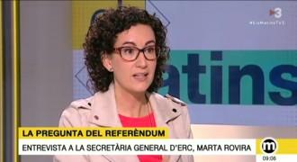 Vés a: ERC vol preservar el Pacte Nacional per evidenciar que l'Estat veta el referèndum pactat