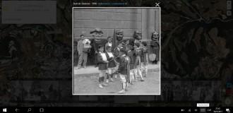 L'aplicació «L'ull del temps» per comparar l'evolució de Catalunya es completa amb fotos històriques