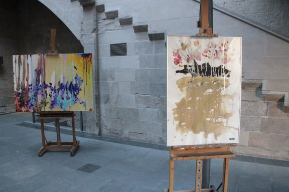 Exposició de pintures al Consell Comarcal