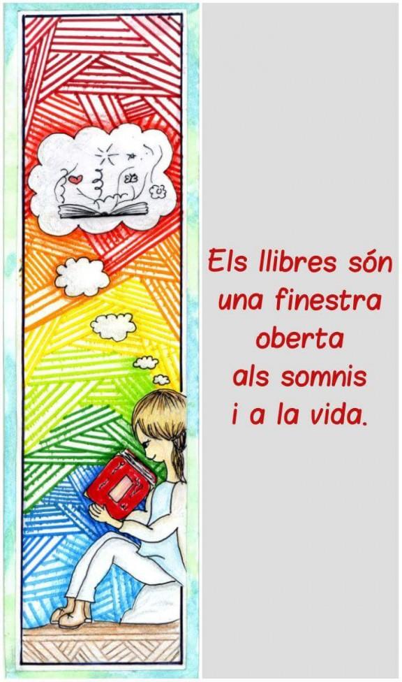La biblioteca convoca el seu segon concurs de punts de llibre per a infants de 3r i 4t