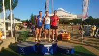 Sancho Ayala es proclama  sotscampió de Catalunya de 5.000mts en pista