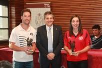 L'Ajuntament solsoní rep amb honors el sènior del Futbol Sala Solsona i el sènior femení del Futbol Base Solsona Arrels, campions de lliga