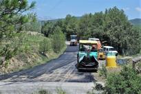 Arranjament de la pavimentació de la carretera de Besora
