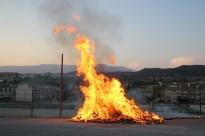 Els Bombers atenen 1.300 serveis per petits incendis durant la revetlla de Sant Joan