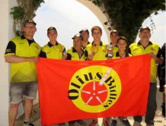 Gran paper del Club Bitlles Olius al Campionat de Palamós