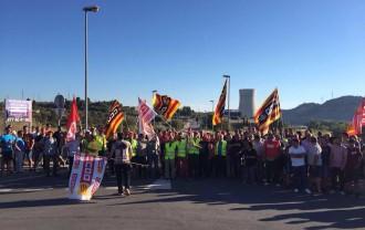 Vés a: Primera jornada de vaga a les centrals nuclears d'Ascó i Vandellòs