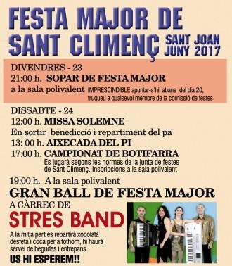 Festa Major de Sant Climenç