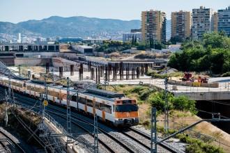 Vés a: Les obres dels accessos de l'estació de la Sagrera s'iniciaran el març