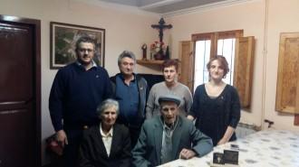 Lliurament de la medalla centenària al Tonet del Graell de la Valldan