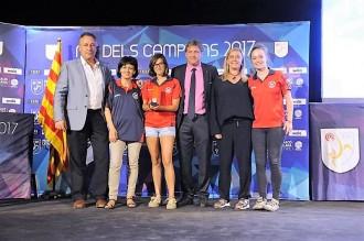 El Sènior Femení del FBSA a la Nit dels Campions de la Federació Catalana de Futbol