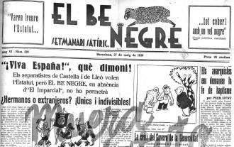 Vés a: «El Be Negre», pioner de la sàtira política en català