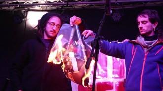 Vés a: Dos detinguts per cremar fotos del rei a la Diada de Mallorca
