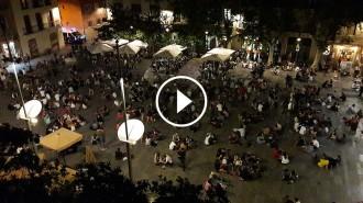 Vés a: La plaça del Sol de Gràcia, la zona zero del «botellón» a Barcelona