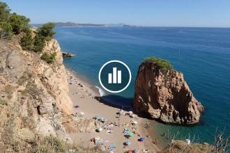 Vés a: MAPA Les 60 platges nudistes de Catalunya per gaudir del mar amb tota llibertat