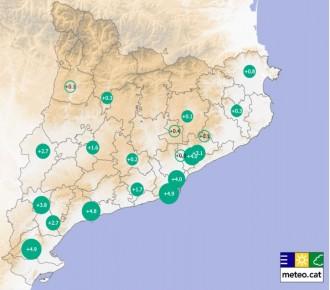 Vés a: La temperatura mitjana a Catalunya és 1,6 ºC més càlida que fa seixanta anys