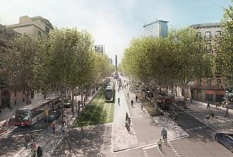 Vés a: Barcelona aposta perquè el tramvia expulsi els cotxes als laterals de la Diagonal